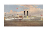 People's Line Hudson River, the Palace Steamers of the World Giclee Print