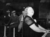 Mildred Irwin, Entertainer in Saloon at North Platte, Nebraska Fotografie-Druck
