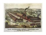 Wason Manufacturing Company of Springfield, Mass Giclee Print