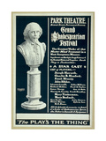 Grand Shakespearian Festival the Greatest Works of the Master Mind Giclee Print