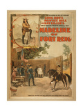 Madeline of Fort Reno the Sensation of the 19th Century Giclee Print