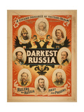 Darkest Russia a Grand Romance of the Czar's Realm Giclee Print