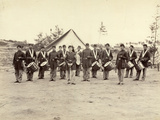 Drum Corps, 30th Pennsylvania Inf'y Photographic Print