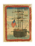 Foreign Ships Calling at Port Giclee Print