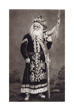 Edwin Forrest as King Lear - Act IV - Scene VI Giclee Print