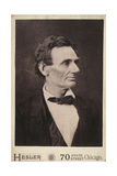 Abraham Lincoln, Presidential Candidate, Half-Length Portrai Giclee Print
