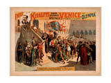 Imre Kiralfy's Grand Historic Spectacle, Venice Giclee Print