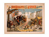 Imre Kiralfy's Gigantic Aquatic Historical Spectacle, Venice Giclee Print