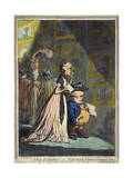 A Peep at Christies; - or - Tally-Ho, and His Nimeney-Pimmeney Giclee Print