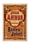 Julia Arthur in Shakespeare's Romeo and Juliet Giclee Print