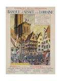Emprunt de La Liberation Giclee Print