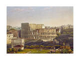 View of the Colosseum, Rome, Italy Giclee Print