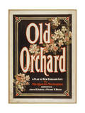 Old Orchard a Play of New England Life by Marguerite Meringt Giclee Print