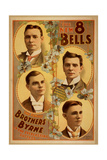 The New 8 Bells the Famous Brothers Byrne in the Everlasting Giclee Print
