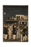 Steamship in an American Port Giclee Print