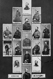 Union Martyrs: Berry, Jas. R. Mcpherson, Alex. Hayes, Ransom Photographic Print