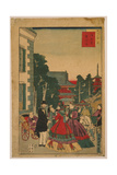 Scenic Places in Tokyo - Asakusa, Telegraph Bureau Giclee Print