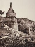 Absalom's Tomb, Jerusalem Photographic Print