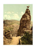 Stag's Leap, Carlsbad, Bohemia, Austro-Hungary Giclee Print