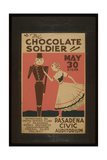 The Chocolate Soldier the Chocolate Soldier Giclee Print