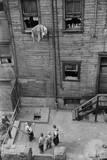 Slums, Pittsburgh, Pennsylvania Photographic Print