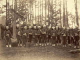 Band of 114th Pennsylvania Infantry, in Front of Petersburg, Photographic Print