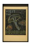 Visit the Aquarium Giclee Print