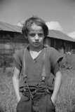 Son of a Woodcutter, Eden Mills, Vermont Photographic Print