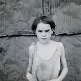 Child Living in Oklahoma City Shacktown Photographic Print