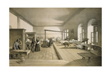 One of the Wards of the Hospital at Scutari Giclee Print