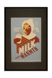 Milk - for Warmth Energy Food Giclee Print