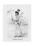 A Dude Belle Giclee Print