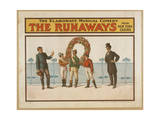 The Runaways the Elaborate Musical Comedy from New York Casino Giclee Print