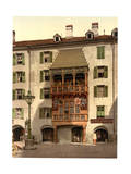 Innsbruck, the Golden Porch, Tyrol, Austro-Hungary Giclee Print