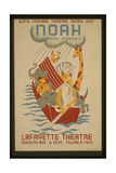 WPA, Federal Theatre Negro Unit in Noah a Human Comedy Giclee Print