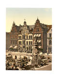 Roland's Monument, Bremen, Germany Giclee Print