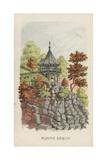 Rustic Arbor Giclee Print