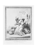 The Genius of France Nursing Her Darling Giclee Print