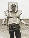 Mouse-Trap Armor for Caddies - Here Is the Newest Safety Device Photographic Print