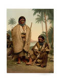 Bedouin Shepherd of Syria, Holy Land Giclee Print