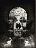 Room Skull Impressão em tela esticada por Ali Gulec