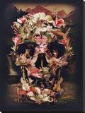 Jungle Skull Impressão em tela esticada por Ali Gulec