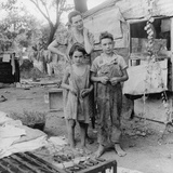 People Living in Miserable Poverty, Elm Grove, Oklahoma County Photographic Print
