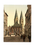 Emperor William's Place, Bremen, Germany Giclee Print