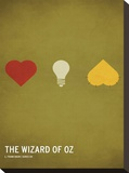 Wizard of Oz Stretched Canvas Print by Christian Jackson
