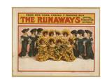 The Runaways from New York Casino, 7 Months Run Giclee Print