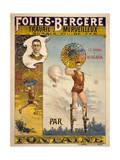 Folies-Bergere Travail Merveilleux Sur Le Fil de Fer Par Fon Giclee Print