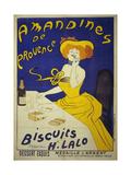 Amandines de Provence Giclee Print