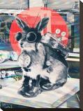 Time Traveller Impressão em tela esticada por Ali Gulec