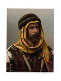 Bedouin Chief of Palmyra, Holy Land (i.e., Tadmur, Syria) Giclee Print